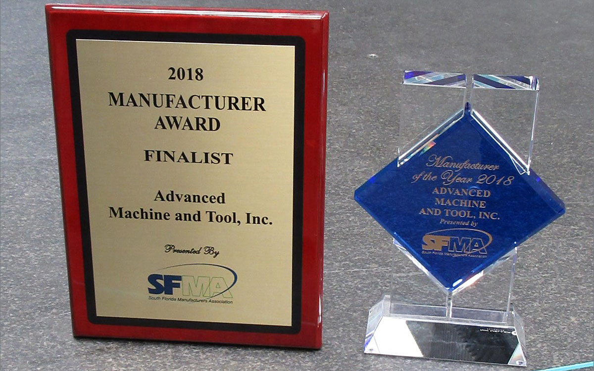 Sfma 2018 manufacturer of the year award advanced machine tool 1betcityfo Images
